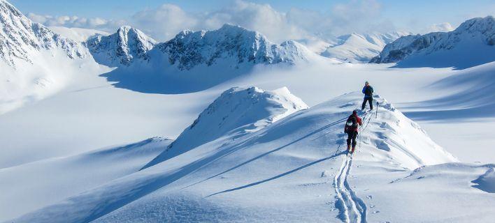 Χιονοστιβάδα στη Νορβηγία: Αγνοούνται τέσσερις τουρίστες