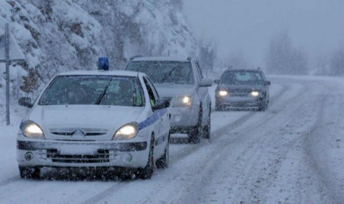 Ανακοίνωση σχετικά με την κατάσταση στο οδικό δίκτυο της Περιφέρειας Θεσσαλίας