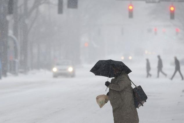Παγωμένη βροχή σε Θεσσαλία και Μακεδονία φέρει η «Υπατία»