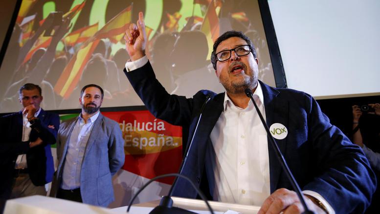 Συμμαχία της δεξιάς με το ακροδεξιό VOX στην Ανδαλουσία