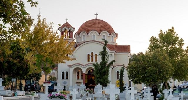Θεία Λειτουργία και τις Κυριακές στο νέο Κοιμητηριακό Ναό Βόλου