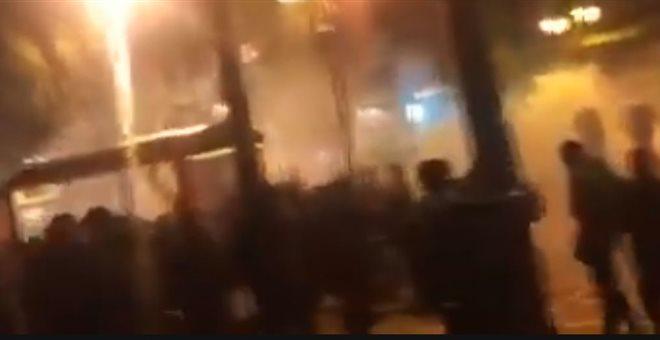 Ένταση στην πορεία κατά της Μέρκελ στο κέντρο της Αθήνας [εικόνες]