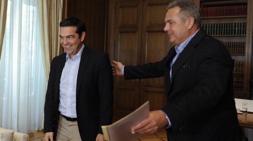 Αναβάλλεται η συνάντηση Τσίπρα- Καμμένου. Εμπλοκή στα Σκόπια
