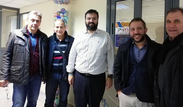 Ο Αλ. Μεϊκόπουλος στον Υφ. Αθλητισμού για τους προπονητές ποδοσφαίρου απόφοιτους ΤΕΦΑΑ