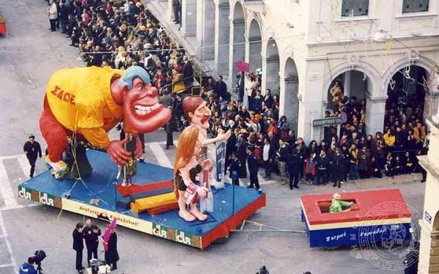Κινέζικοι δράκοι και άρματα με ειδικά εφέ στο φετινό καρναβάλι της Πάτρας