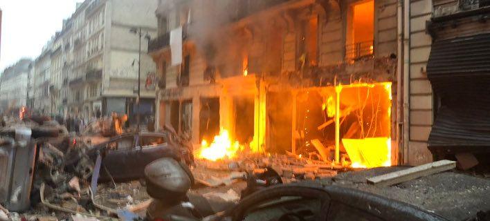 Ισχυρή έκρηξη με νεκρούς & τραυματίες στο κέντρο του Παρισιού [εικόνες]