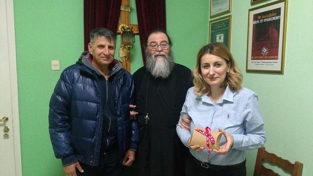 Σημαντική δωρεά στον «Εσταυρωμένο» από το Κέντρο Ρωσικής Γλώσσης και Πολιτισμού «ΡΟΥΣ»