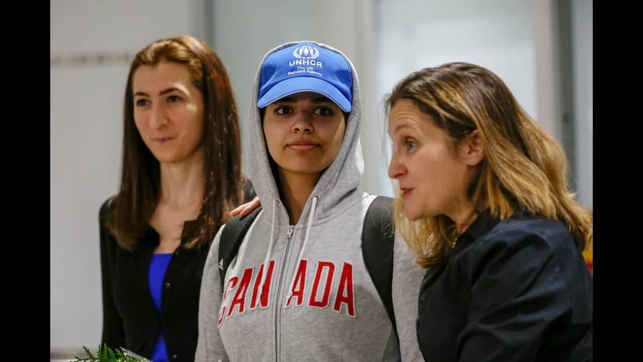 Έφθασε στο Τορόντο η 18χρονη που το έσκασε από τη Σαουδική Αραβία