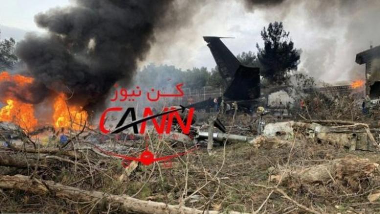 Συντριβή αεροσκάφους στο Ιράν με εννέα επιβάτες