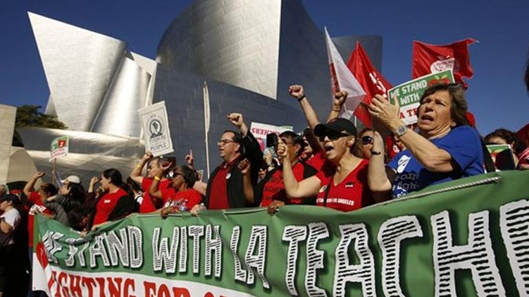 Λος Άντζελες: Απεργία εκπαιδευτικών για πρώτη φορά τις τελευταίες τρεις δεκαετίες
