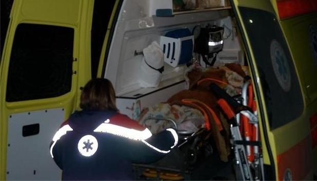 Τραυματίστηκαν μάνα και γιός σε τροχαίο στην οδό Αγιάς στη Λάρισα