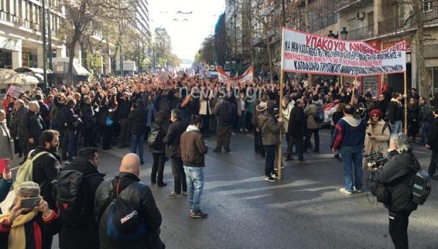 Πορεία στην Βουλή κάνουν εκπαιδευτικοί