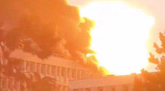 Έκρηξη σε πανεπιστήμιο της Λυόν