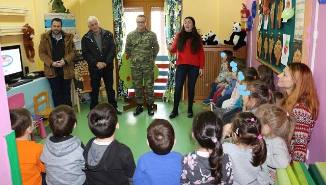 Τα νήπια της 1ης Στρατιάς γνώρισαν τον Συνεταιρισμό ZAGORIN