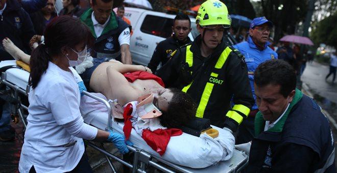 Πολύνεκρη βομβιστική επίθεση στη Μπογκοτά της Κολομβίας