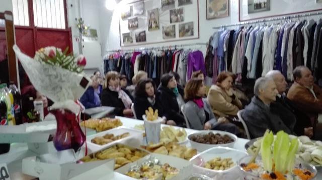 Εορταστική συνάντηση εθελοντών του «Εσταυρωμένου»
