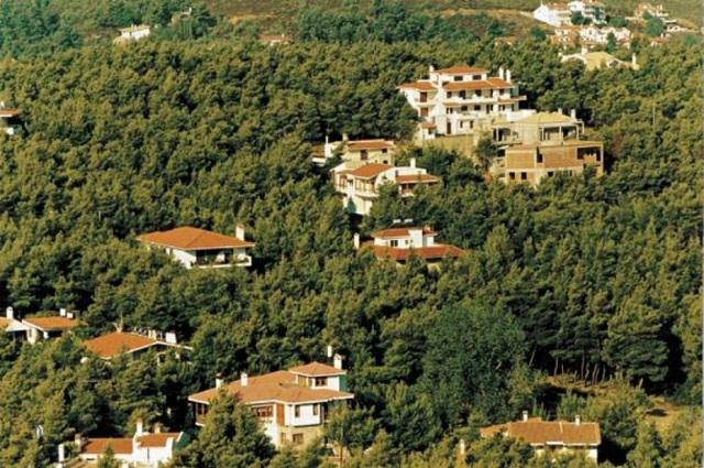 Στο σχέδιο πόλης το 85% των δασικών αυθαιρέτων