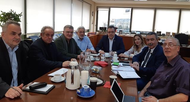 Σύσκεψη για τα σχέδια διαχείρισης των λεκανών απορροής ποταμών