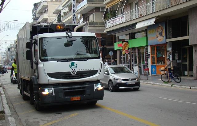 Νέος στόλος οχημάτων και μηχανημάτων στον Δήμο Βόλου