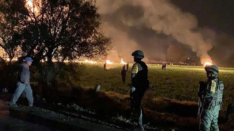 Τους 107 έφτασαν οι νεκροί από την έκρηξη στο Μεξικό