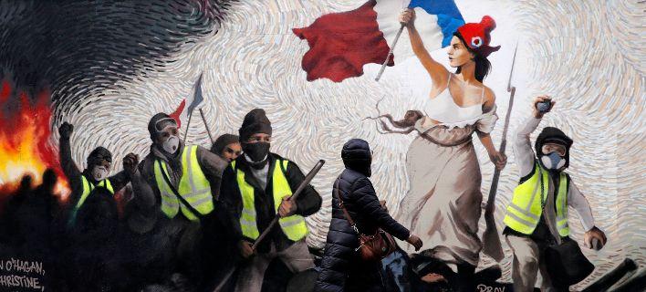 Γαλλία: Τα «Κόκκινα Φουλάρια» ετοιμάζονται να απαντήσουν στη βία των «Κίτρινων Γιλέκων»