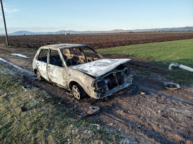 Φάρσαλα: Εκλεψαν αυτοκίνητο και στη συνέχεια το ...έκαψαν
