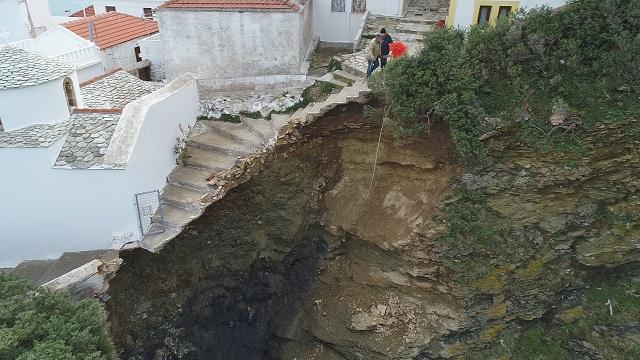 Κατάσταση έκτακτης ανάγκης στη Σκόπελο