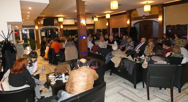 Επιτυχημένη εκδήλωση για την κοπή της πίτας της Χορωδίας Ν. Αγχιάλου
