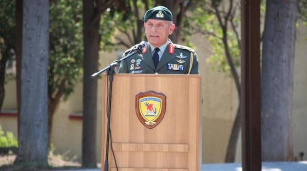 Διοικητής της 1ης Στρατιάς ο Αντιστράτηγος Φλώρος