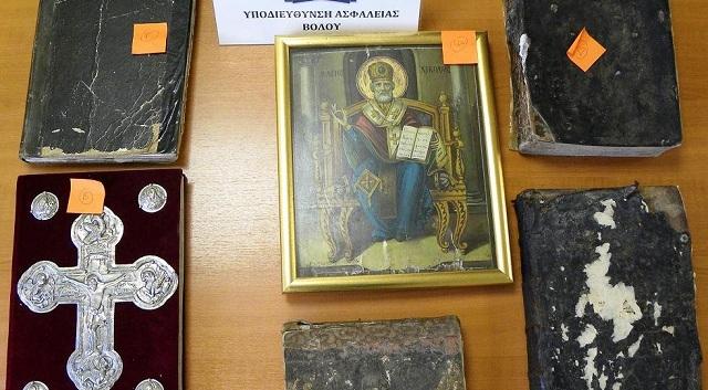 Δίωξη σε βάρος Βολιώτη αρχαιοκάπηλου μετά από καταγγελία ιερέα