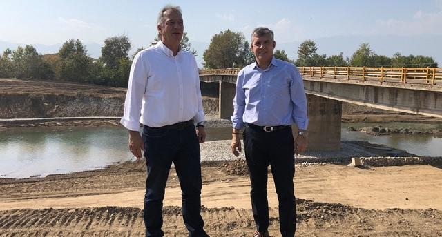 Αντιπλημμυρικά έργα  10 εκατ. ευρώ  στο Πηνειό ποταμό στα Τρίκαλα