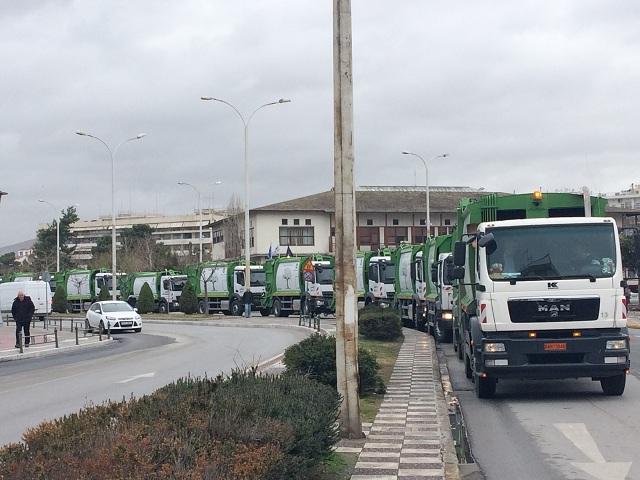 Τί απαντά ο Δήμος Βόλου για την ανανέωση του στόλου των οχημάτων