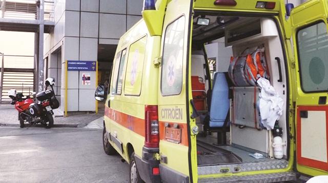 Τραυματισμός άνδρα μετά από πτώση στη Β΄ΒΙ.ΠΕ. Βόλου