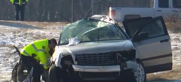 Φριχτό τροχαίο στις ΗΠΑ: 5 παιδιά νεκρά, σώθηκε η οδηγός μητέρα τους [εικόνες]