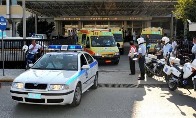Κατέληξε το τρίχρονο κοριτσάκι που είχε παρασυρθεί από αυτοκίνητο στην Πάτρα
