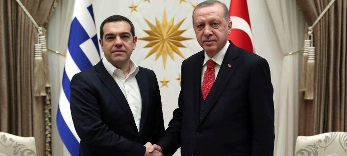 Τελείωσε η συνάντηση Τσίπρα-Ερντογάν: Παγωμένα χαμόγελα στο Λευκό Παλάτι