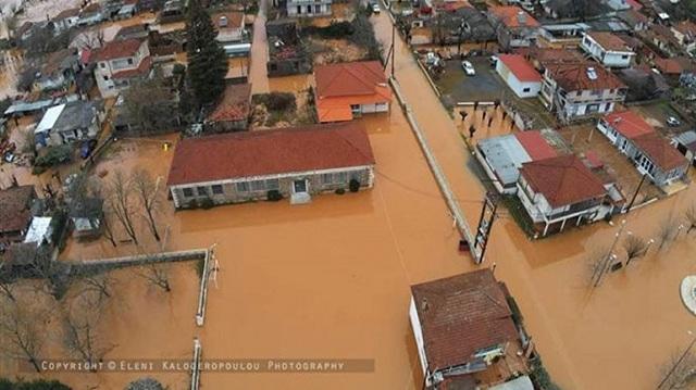 Πλημμύρισε ολόκληρο χωριό στην Αρκαδία [εικόνες]