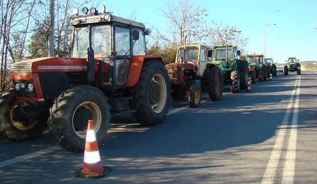 Προσυγκέντρωση αγροτών του Πηλίου για το συλλαλητήριο της Δευτέρας