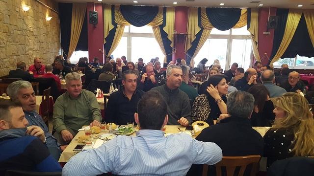 Tην πρωτοχρονιάτικη πίτα τους έκοψαν οι εργαζόμενοι στον Δήμο Ρ. Φεραίου