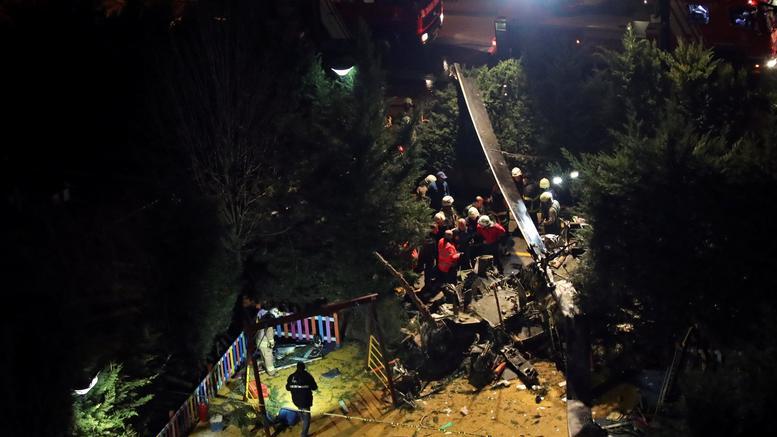 4 νεκροί σε συντριβή στρατιωτικού ελικοπτέρου στην Κωνσταντινούπολη
