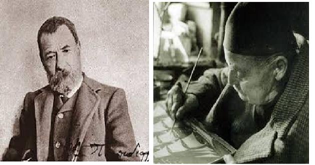Γρηγόρης Καρταπάνης: Αλ. Παπαδιαμάντης και Ν. Χριστόπουλος