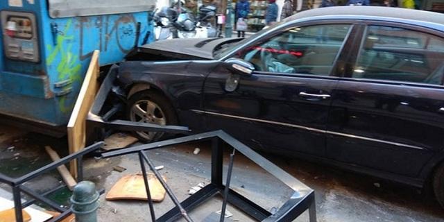 Ηλικιωμένος οδηγός έσπειρε τον τρόμο στην Θεσσαλονίκη [εικόνες]