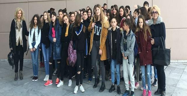 Μαθητές της Ν. Αγχιάλου γνώρισαν το έργο του Ντα Βίντσι
