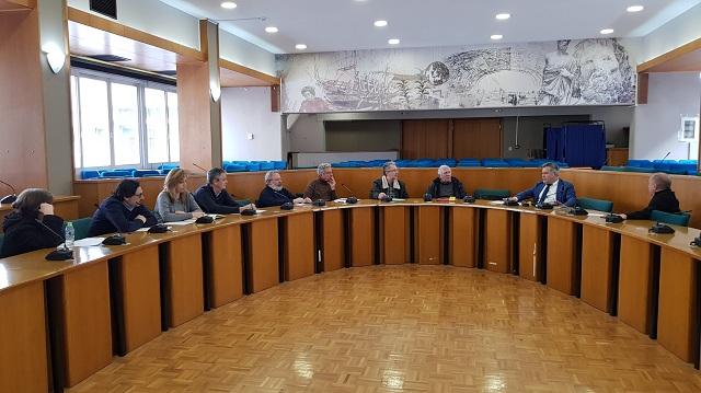 Σύσκεψη διοικητικών στελεχών Τμήματος Περιβάλλοντος