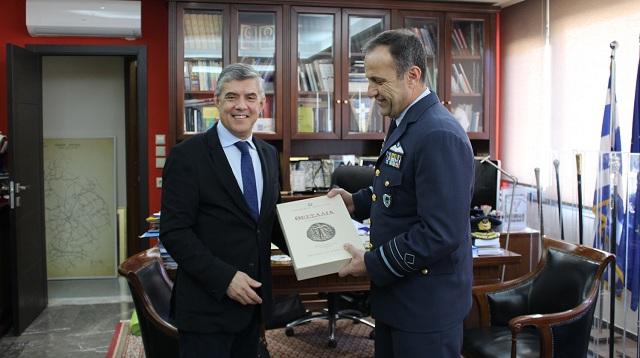 Κλίμα συνεργασίας μεταξύ Περιφέρειας και Τακτικής Αεροπορίας