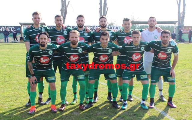 Μεγάλη νίκη με 3-1 για τον Θησέα  επί του Φωκικού στην Αγριά