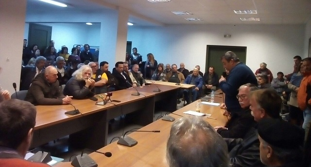 Ο Γιώργος Αναγνώστου επικεφαλής του ψηφοδελτίου της ΛΑ.Σ. στην Σκόπελο