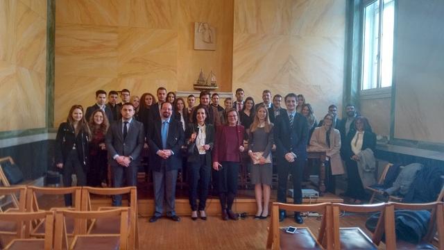 Στο Συμβούλιο της Επικρατείας οι φοιτητές της Νομικής Σχολής του Ευρωπαϊκού Πανεπιστημίου Κύπρου