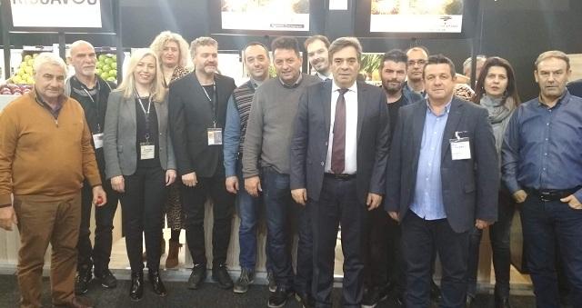 Δυναμική παρουσία της Θεσσαλίας στη FRUIT LOGISTICA 2019 στο Βερολίνο