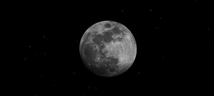 Η ατμόσφαιρα της Γης εκτείνεται πέρα από το φεγγάρι